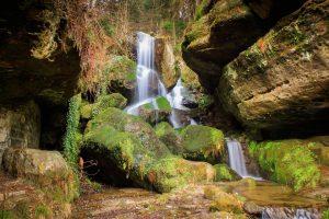 Lichtenhainer Wasserfall im Kirnitzschtal
