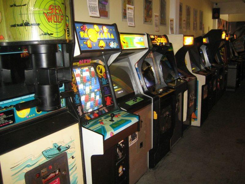 Spielkonsolen im RetroGames Museum