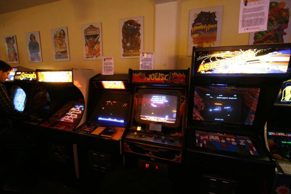 Spielkonsolen im Retro Games Museum