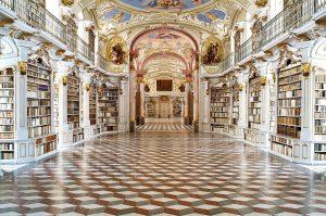 Klosterbibliothek im Stift Admont, Österreich