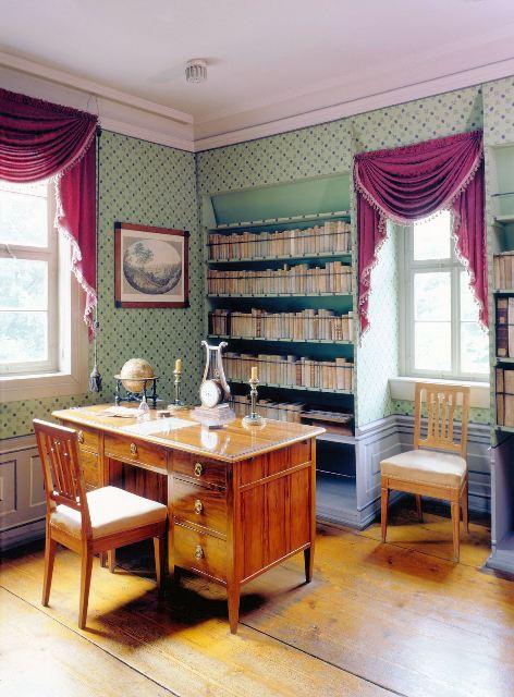 Arbeitszimmer in Schillers Wohnhaus
