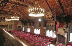 Festsaal auf der Wartburg