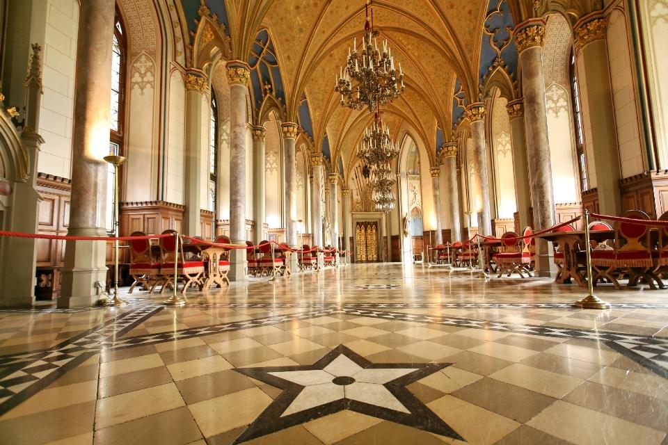 Grafensaal der Burg Hohenzollern