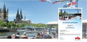 25 Euro Wertgutschein für die KD Rheinflotte