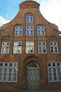 Patrizierhaus in der Altstadt von Lübeck