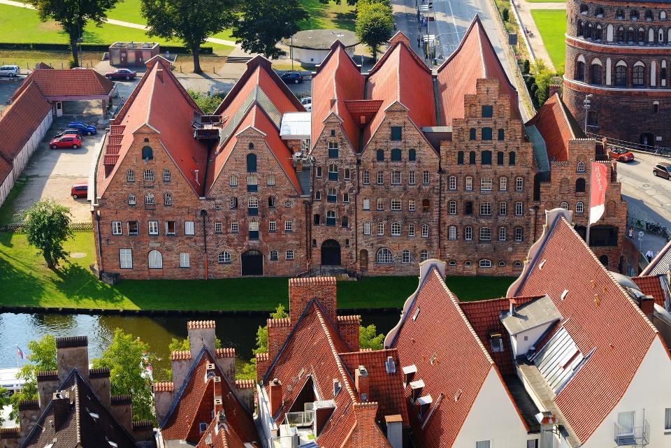 Salzspeicher in Lübeck