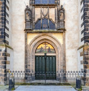 Thesentür an der Schlosskirche Wittenberg, Luthergedenkstätten
