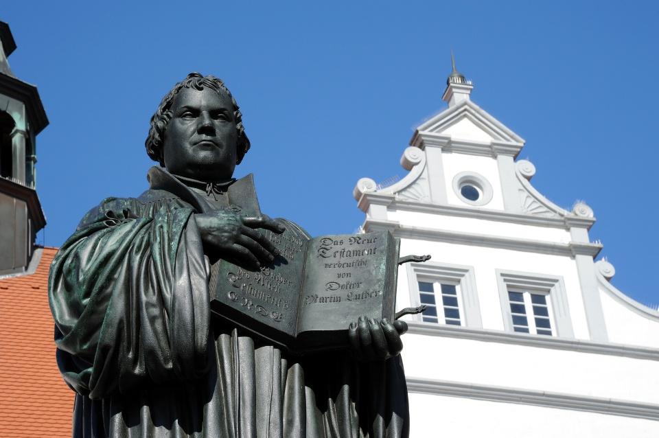Lutherdenkmal in Wittenberg