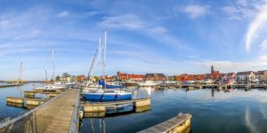 Hafen in Waren (Müritz)