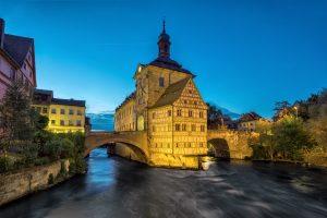 Bamberg Rathaus - Drehorte in Deutschland - Aischtalradweg
