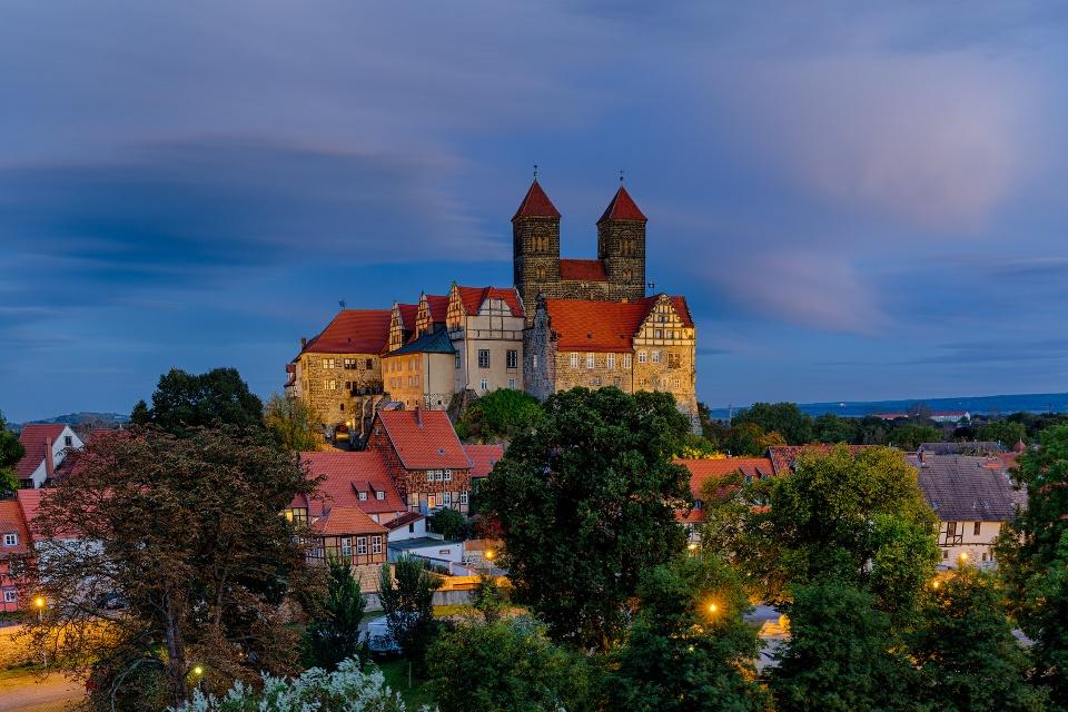 Schloss und Stiftskirche Quedlinburg - Drehorte in Deutschland