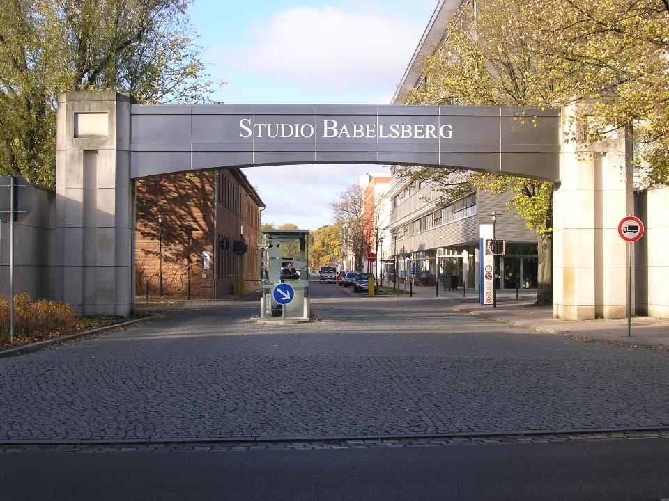 Studiotor der Filmstudios Babelsberg