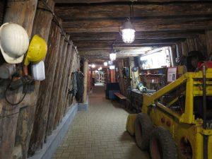 Im Besucherstollen des Bugginger Kalimuseums - nördliches Markgräflerland