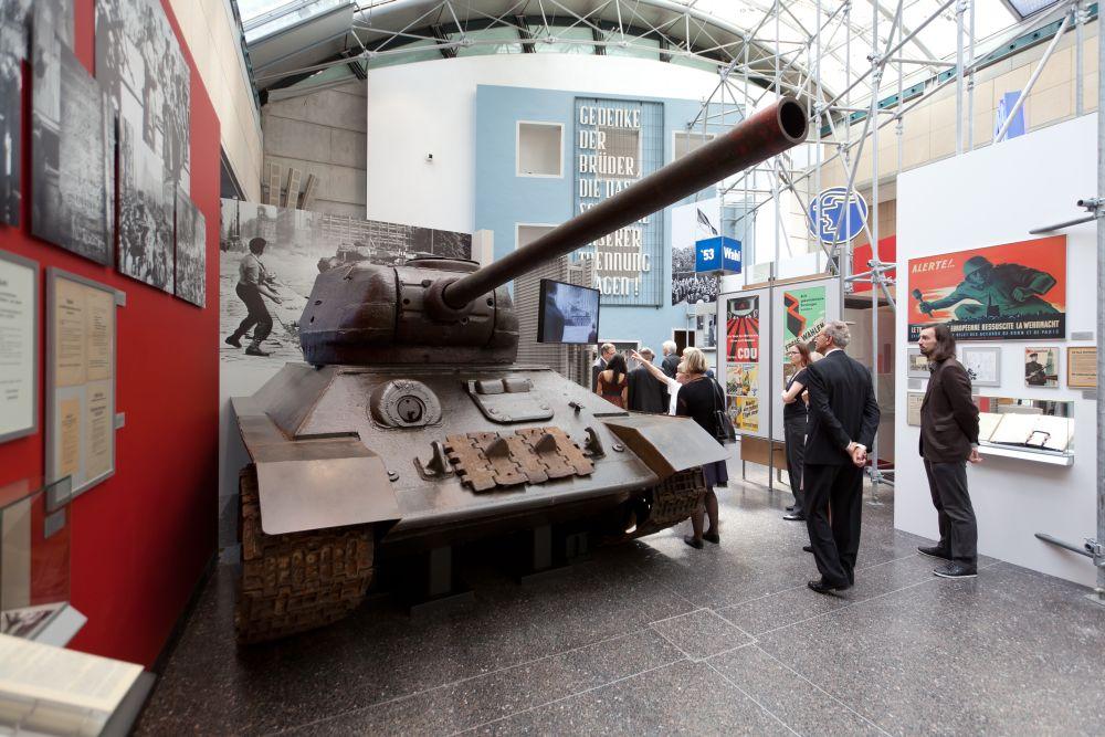 Haus der Geschichte, Bonn, sowjetischer Panzer vom Typ T34