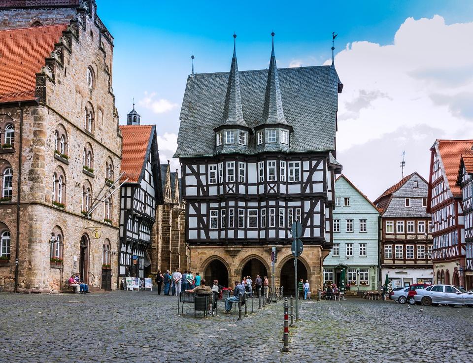 Mittelalterliche Altstadt von Alsfeld