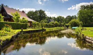 Wasserkanal im Spreewald