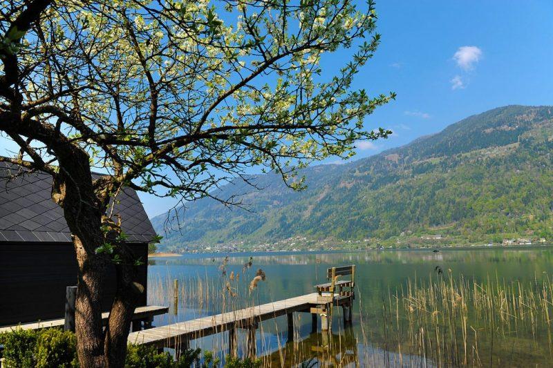 Frühling am Ossiacher See