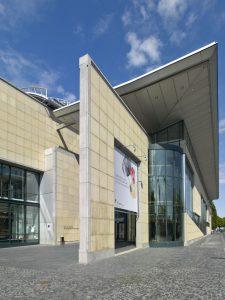Haus der Geschichte, Bonn, Haupteingang