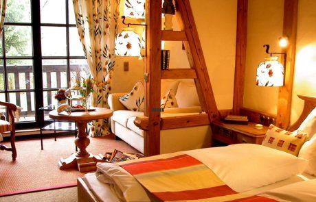 Komfort Doppelzimmer Jagdhof Glashütte