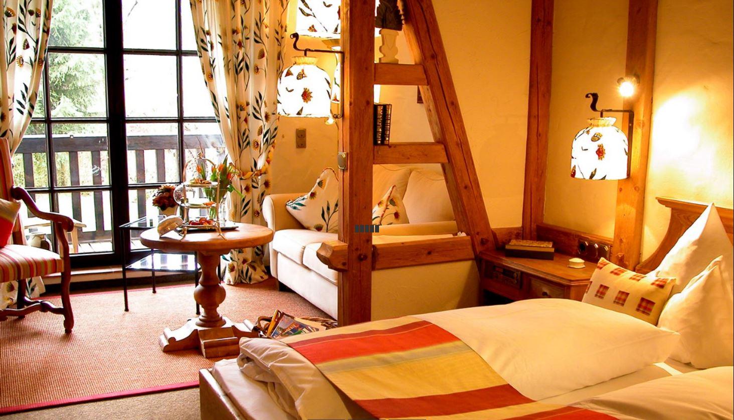 Komfort Doppelzimmer © Jagdhof Glashütte