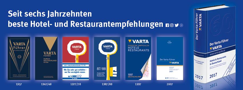Jubiläums-Banner | Der Varta-Führer
