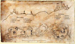 Historische Karte©BurgSterrenberg