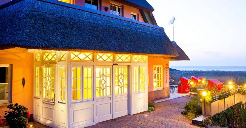 H12606 Terrasse Romantik Hotel Ahrenshoop
