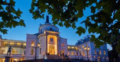 Schlosshotel im Abendlicht
