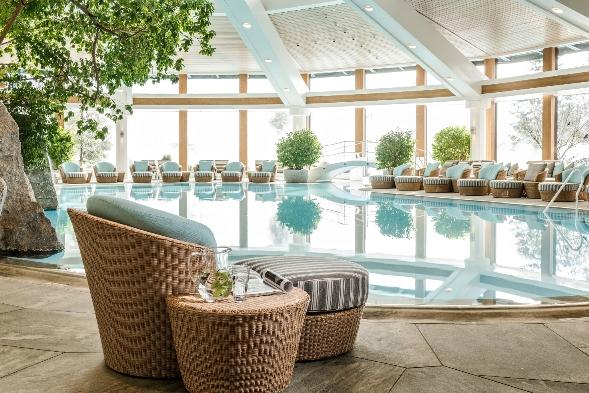 Wellnessbereiche Hotel Sonnenalp Ofterschwang