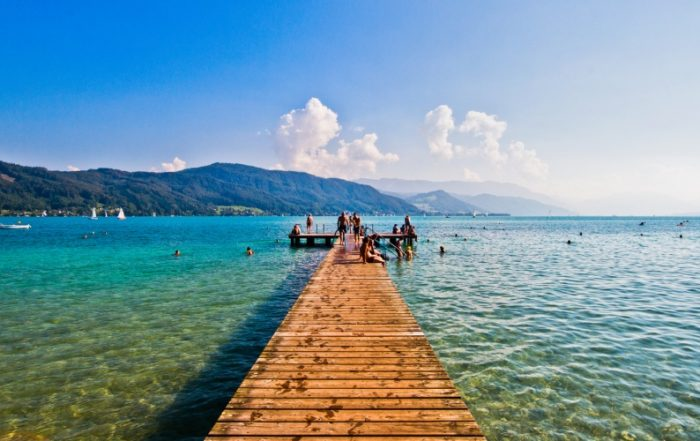 Attersee im Sommer