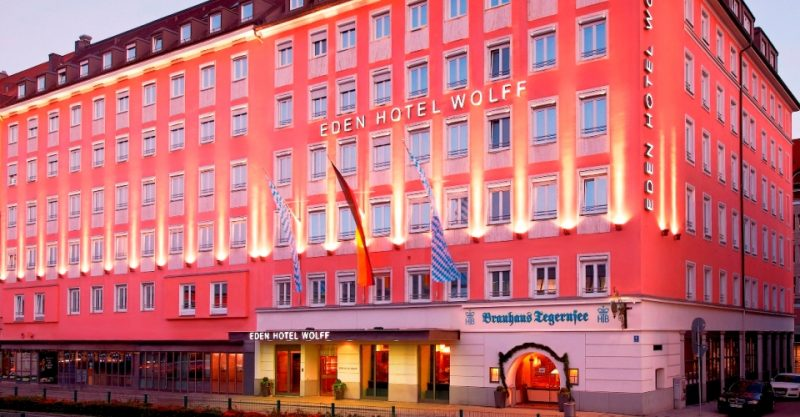 Hotelansicht Eden Hotel Wolff München