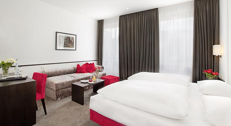 Doppelzimmer Eden Hotel Wolff