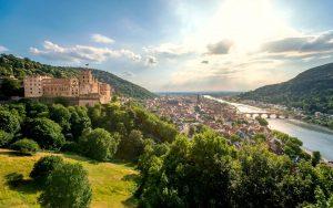 Blick über Heidelberg am Neckar in der Region Rhein-Neckar - © pure-life-pictures- fotolia.com