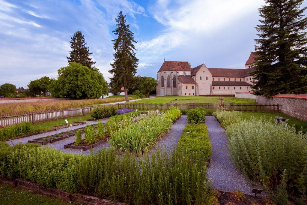 Klosterinsel Reichenau, Klostergärten