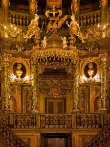 Fürstenloge, Markgräfliches Opernhaus, Bayreuth