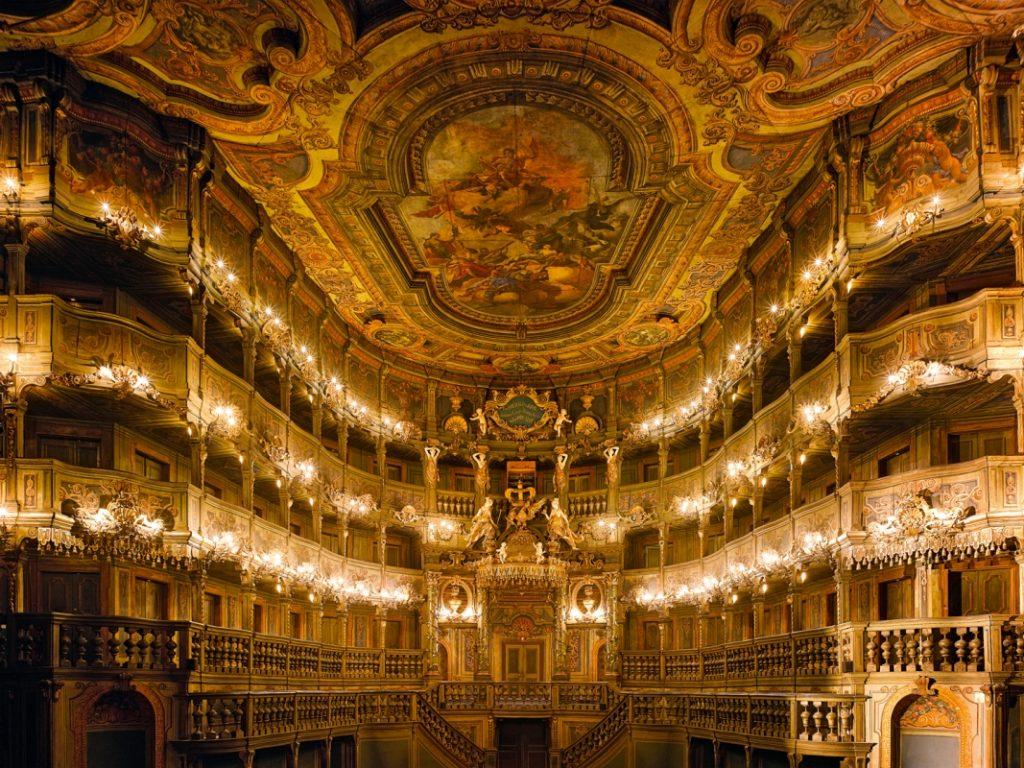 Innenraum Markgräfliches Opernhaus, Bayreuth