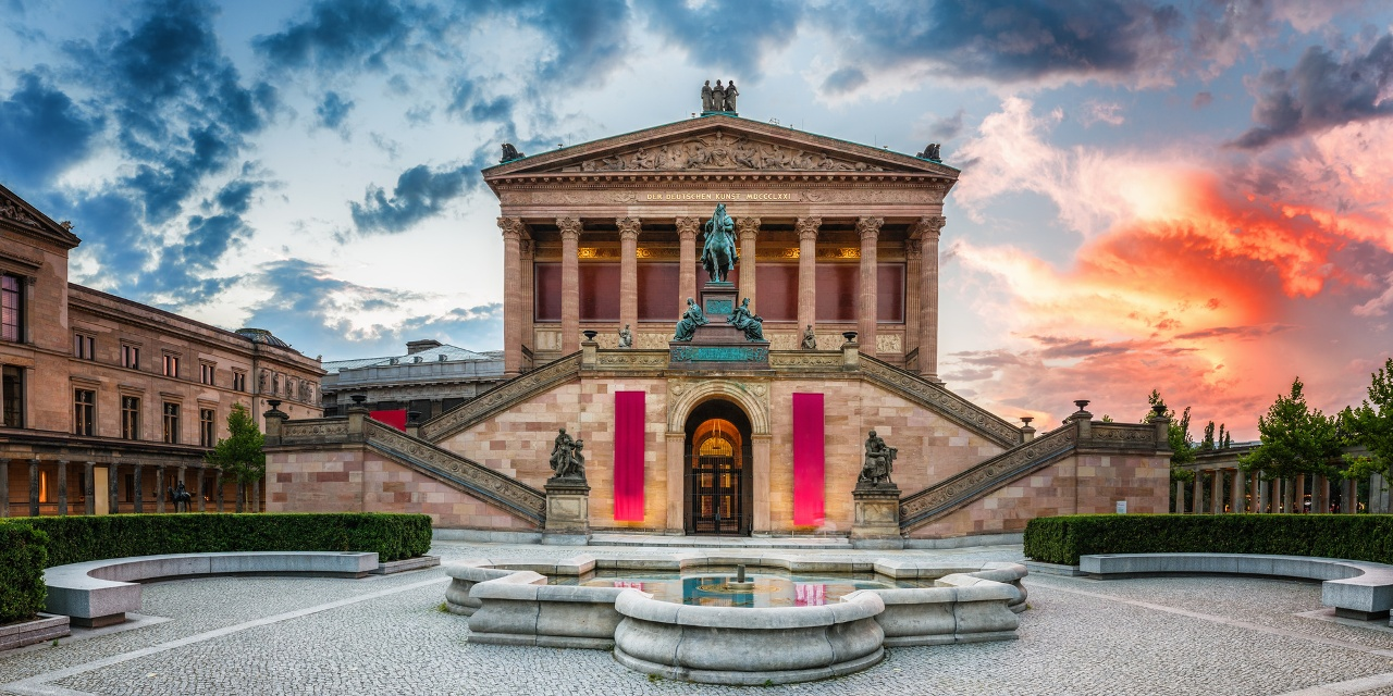 Museumsinsel Berlin, Alte Nationalgalerie