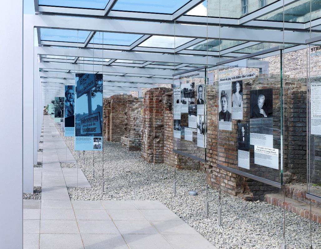 Topographie des Terrors, Ausstellungsgraben