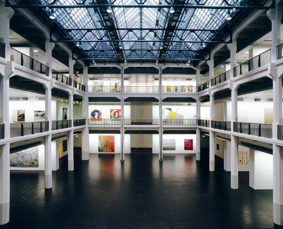 Innenansicht des ZKM | Zentrum für Kunst und Medien Karlsruhe