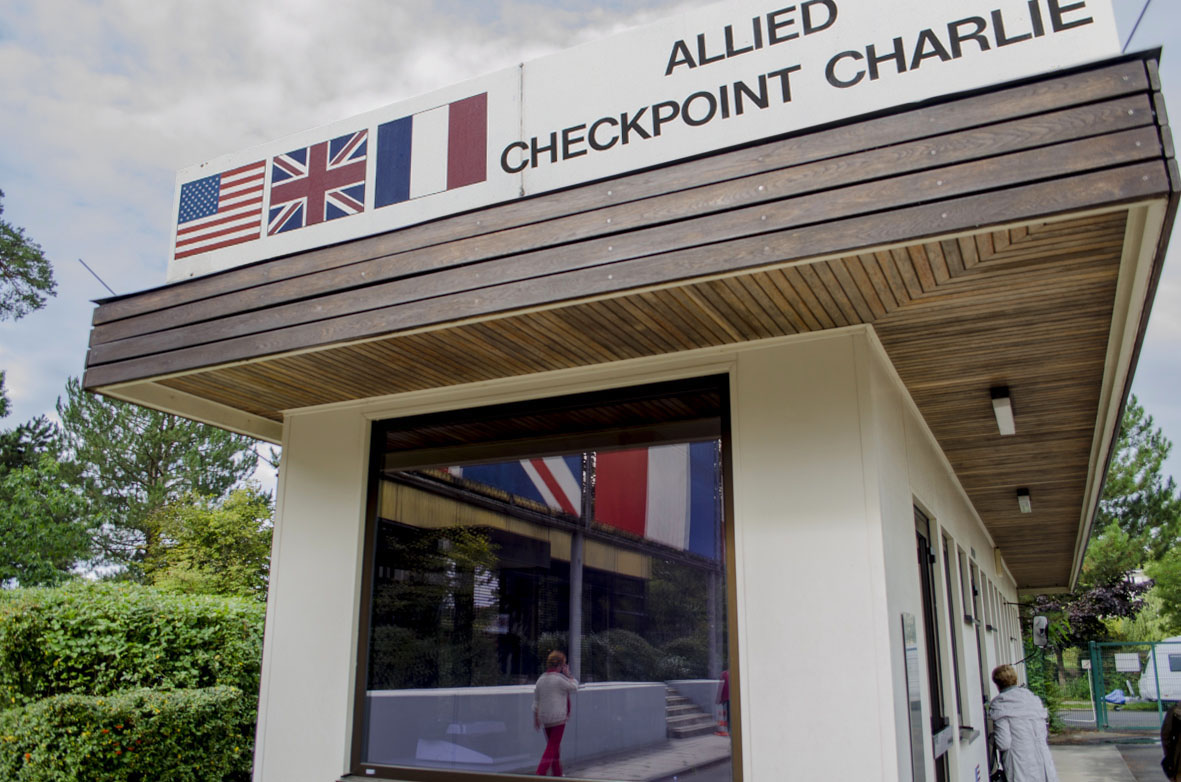 Chekcpoint Charlie im AlliiertenMuseum