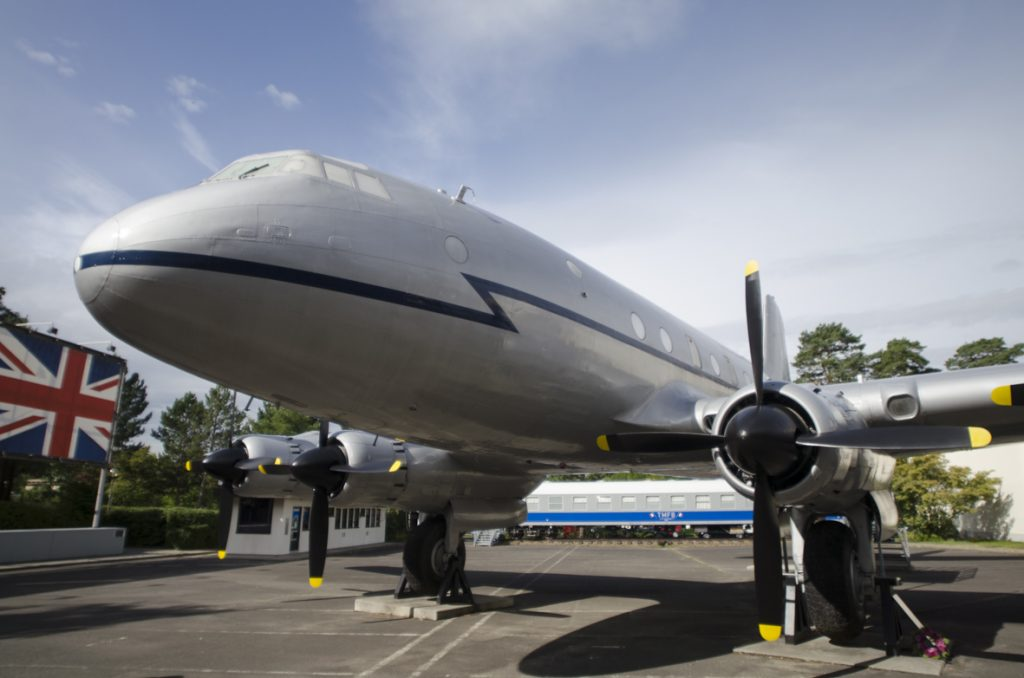 AlliiertenMuseum, Luftbrückenflugzeug