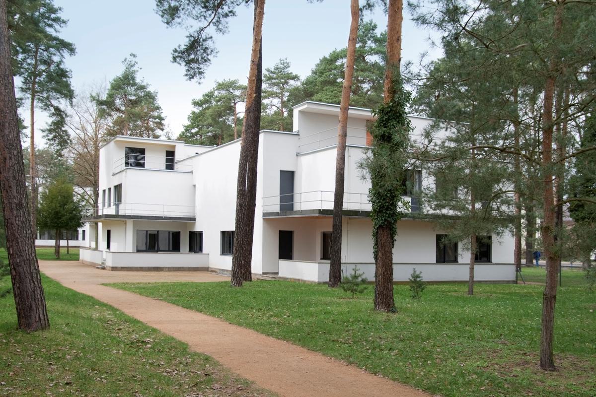 Meisterhaus Haus Muche/Schlemmer (1925–26), Architekt Walter Gropius © Foto: Yvonne Tenschert, 2011, Stiftung Bauhaus Dessau