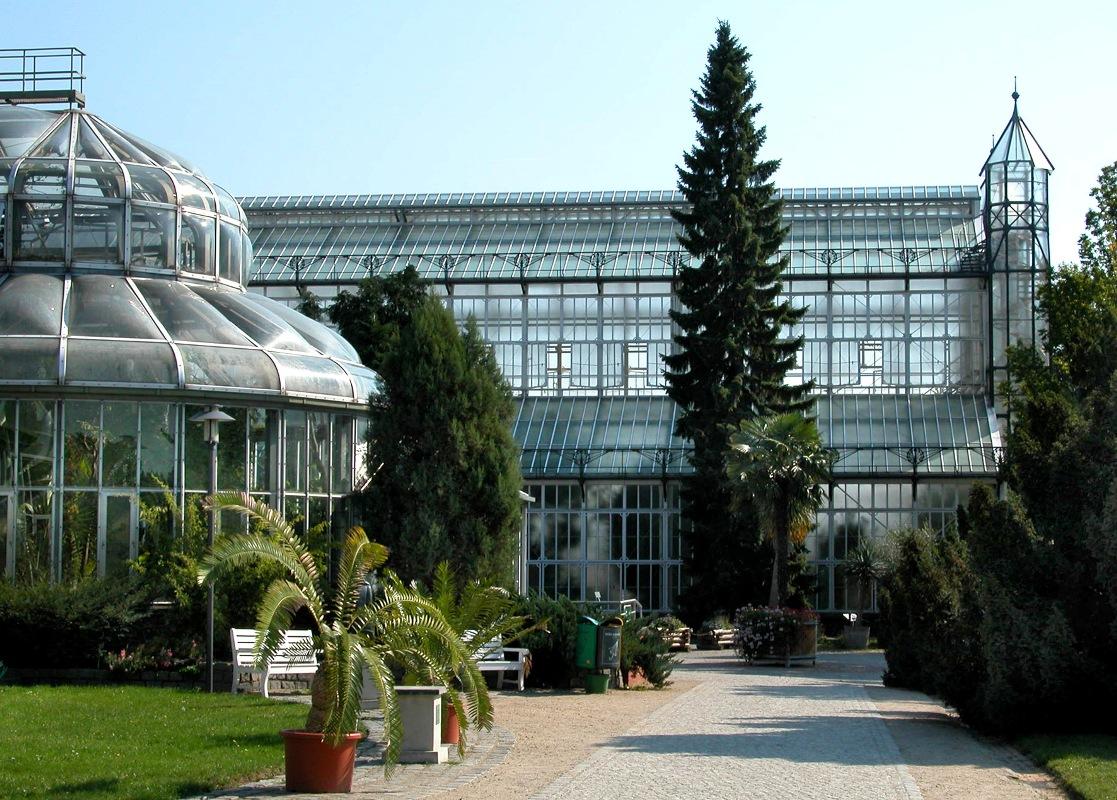 Der Botanische Garten Berlin, Gewächshäuser