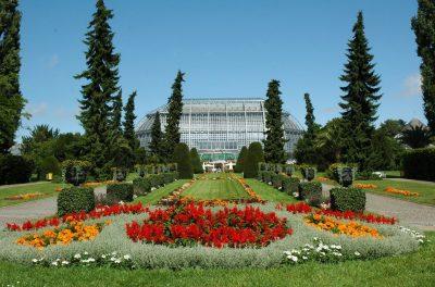 Botanischer Garten Berlin, Großes Tropenhaus