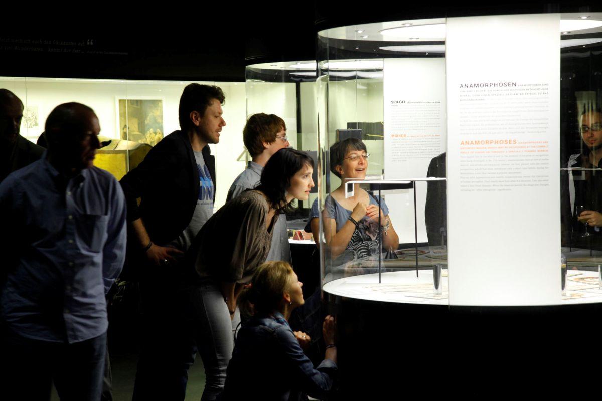 """Deutsches Filmmuseum Frankfurt, Ausstellung """"Filmisches Sehen"""""""