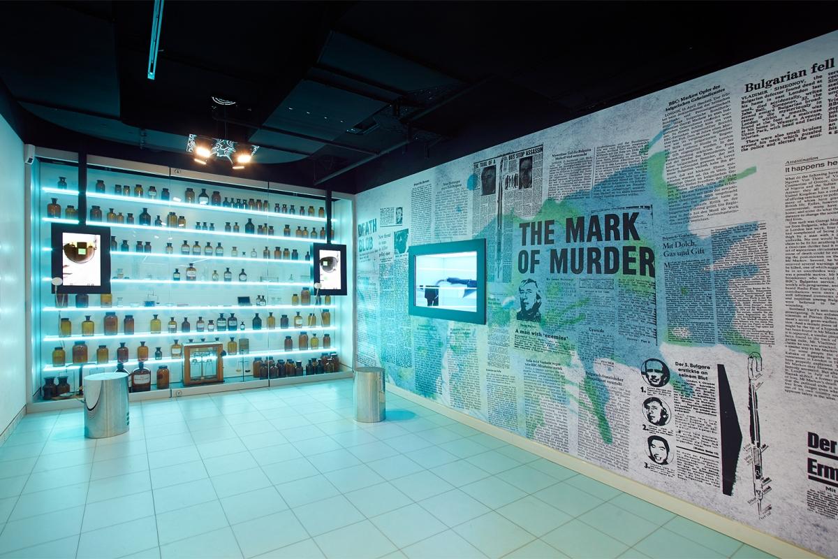 """Deutsches Spionagemuseum, Dauerausstellung """"Gift"""""""