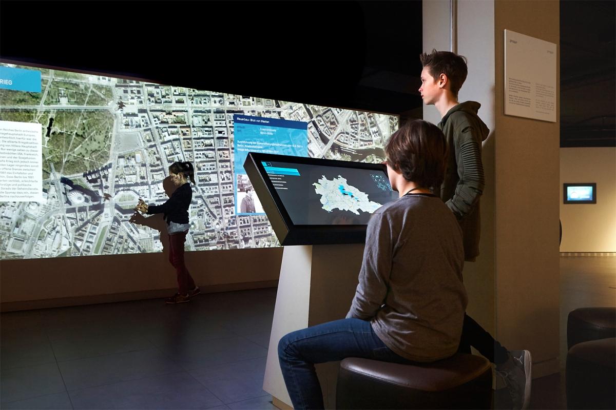 Spy Map im Deutschen Spionagemuseum