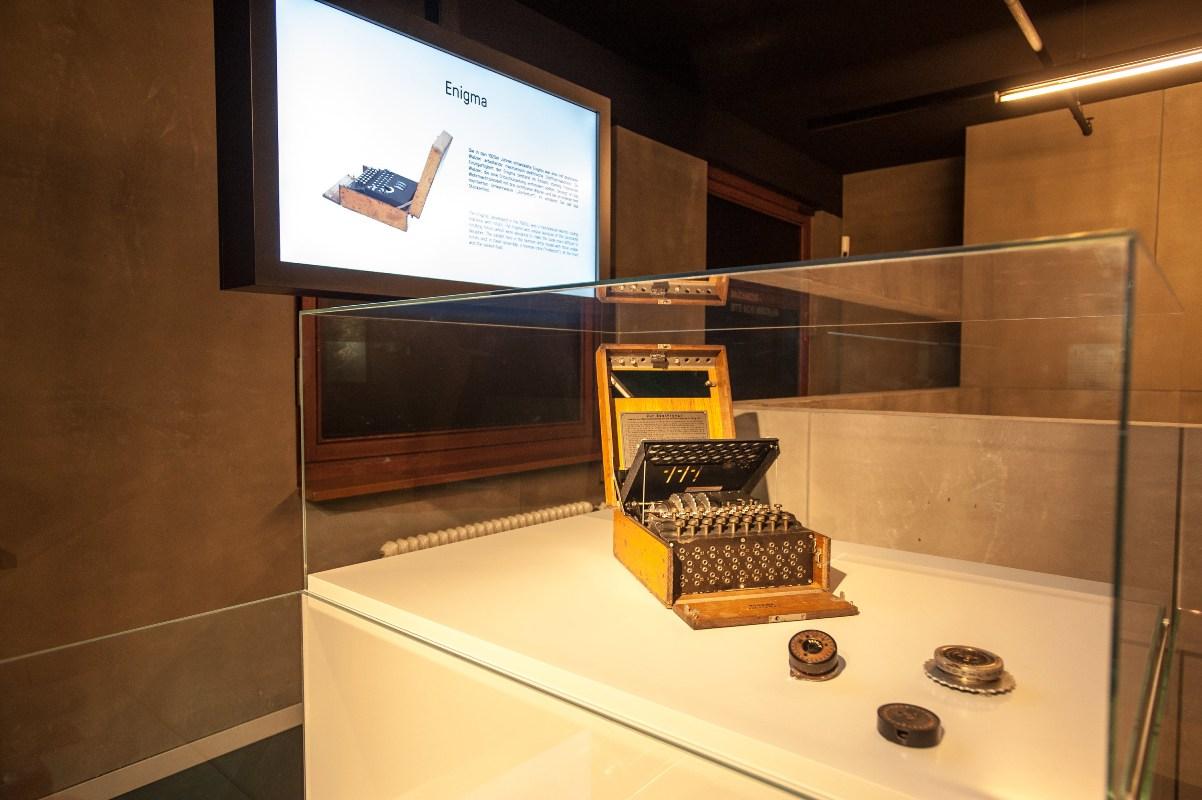 Enigma im Deutschen Spionagemuseum