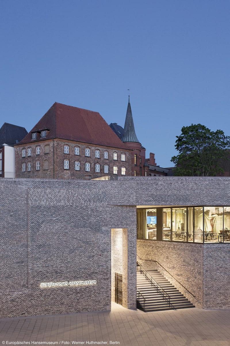 Europäisches Hansemuseum, Hauptansicht