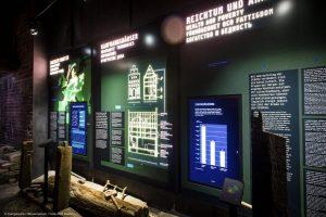 Europäisches Hansemuseum, Infografiken